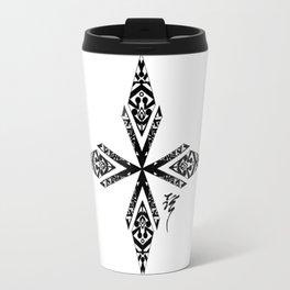 Tribal Cross Travel Mug