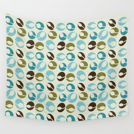 Mid-Century Modern Martini (teal) Wall Tapestry