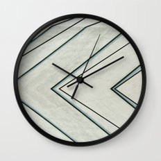 Black Lines Wall Clock
