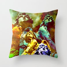 All Angels call Your Name Throw Pillow