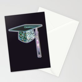 Graduation in Abalone Stationery Cards