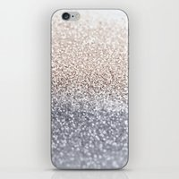 silver iPhone & iPod Skins featuring SILVER by Monika Strigel