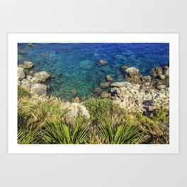 Zarbo di Mare, Sicily Art Print