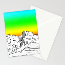 Notch Peak Sawtooth Mountain Stationery Cards