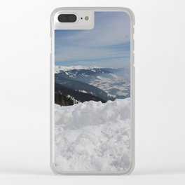 Wunderfull Snow Mountain(s) 6 Clear iPhone Case