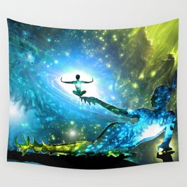 A Bright Embrace Wall Tapestry