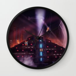Andover Esate, Blade Runner Style Wall Clock