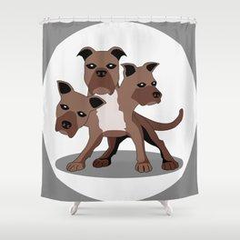 Cerberus Shower Curtain