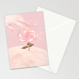 Moon Rose Stationery Cards