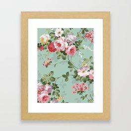 MRSF Floral Framed Art Print
