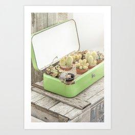 Cactus Lover Art Print