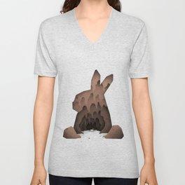 That's No Ordinary Rabbit Unisex V-Neck