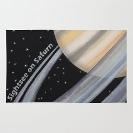 Sightsee On Saturn Rug