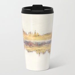 Forest Gold - Abstract Photography Travel Mug