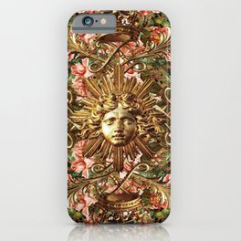 Flowers at the Gate iPhone Case