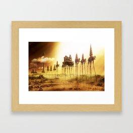 -Caravan Dali- Framed Art Print