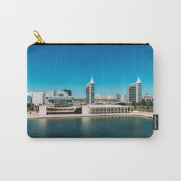 Parque das Nacoes (Park of Nations) in Lisbon, Wall Art Print, Modern Architecture Art, Skyline Carry-All Pouch