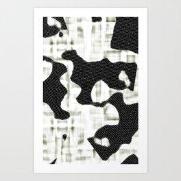 DIGITAL_CAMOUFLAGE Art Print