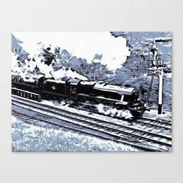 Scarborough Spa Express Graphic Novel Canvas Print