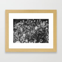 New Noise Framed Art Print