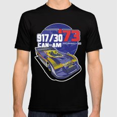 PORSCHE - 917/30 CAN-AM SMALL Black Mens Fitted Tee