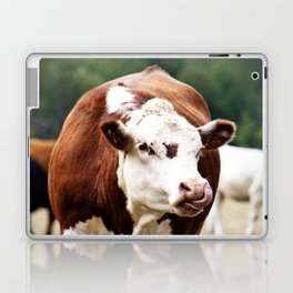 Herefordshire Cow Laptop & iPad Skin