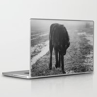 silence of the lambs Laptop & iPad Skins featuring silence by Rachel Lauren