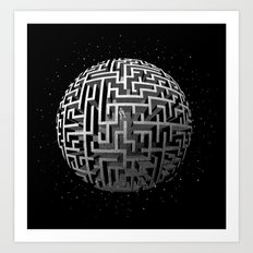 Lost in Space Art Print