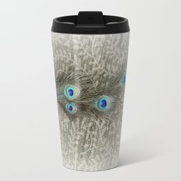 Peacock Summer Travel Mug