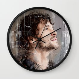 The good fisherman Wall Clock