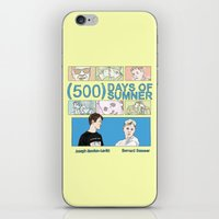 500 days of summer iPhone & iPod Skins featuring 500 Days of Sumner by StellaDays