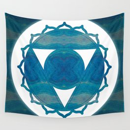 Dimensional Communications Abstract Chakra Art Wall Tapestry