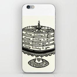 The Happy Cake ♥. iPhone Skin