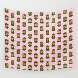 Chibi Raphael Ninja Turtle Wall Tapestry