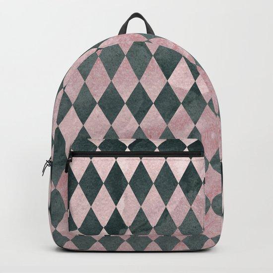 Marble Harlequin Backpack