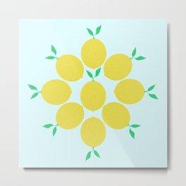 Lemon Love Metal Print