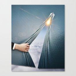 Through the Veil Canvas Print
