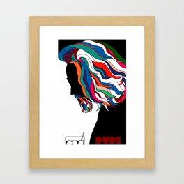 Dude Framed Art Print