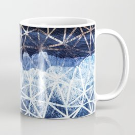 Tropical VIII - Beach Waves Pattern I Coffee Mug