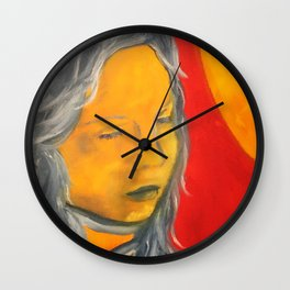 Sun on My Face Wall Clock