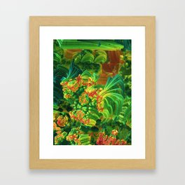 Tropic Framed Art Print