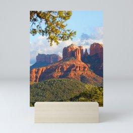 Cathedral Rocks of Sedona Mini Art Print