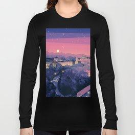 Pixel City 3 Long Sleeve T-shirt