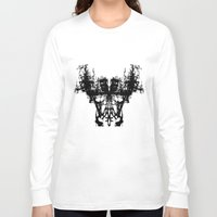mask Long Sleeve T-shirts featuring MASK by kartalpaf