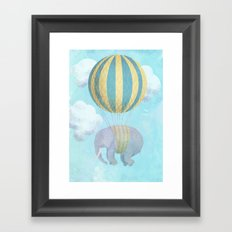 Escape From the Circus Framed Art Print