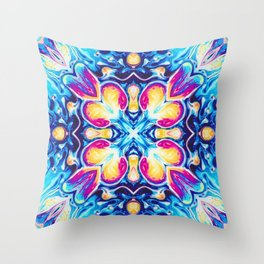 Moroccan Three Throw Pillow