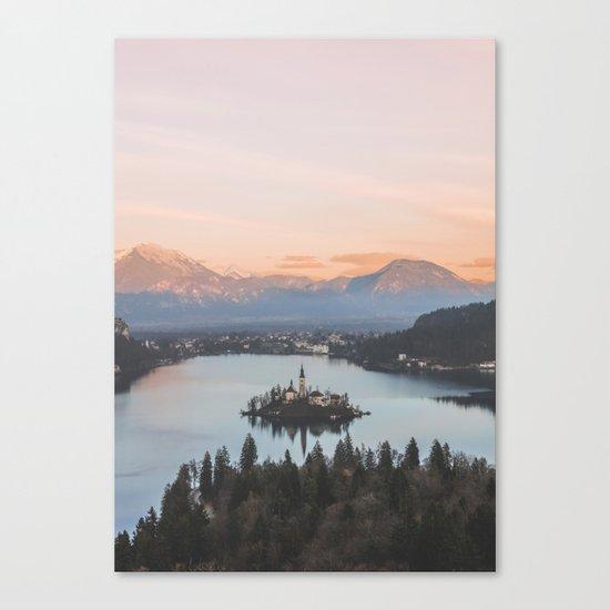 Lake Bled, Slovenia Canvas Print