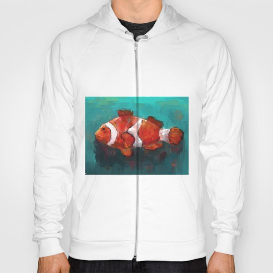 Red Clown Hoody