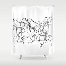 Horses (Movement) Shower Curtain