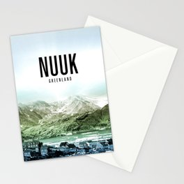 Nuuk Wallpaper Stationery Cards